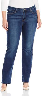 Levi's Women's Plus-Size 414 Relaxed Straight Jean (Plus)