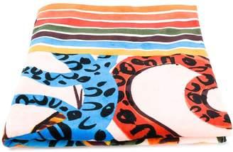 Escada snake print towel