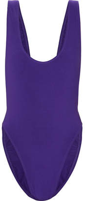 Norma Kamali Marissa Swimsuit - Purple
