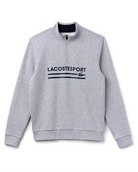Lacoste Retro Mock Neck Sweat