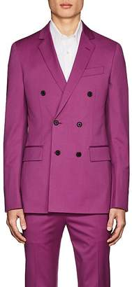 Calvin Klein Men's Wool Double-Breasted Sportcoat