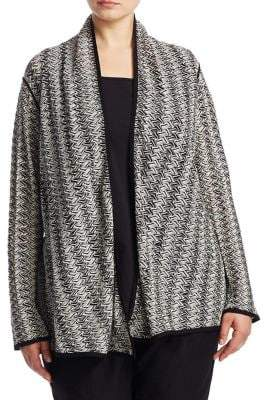 Nic+Zoe Plus Plus Twinkle Four-Way Cardigan