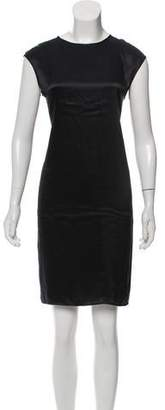 Magaschoni Silk Knee-Length Dress w/ Tags