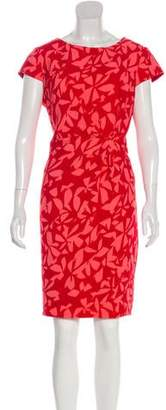 Paule Ka Printed Knee-Length Dress
