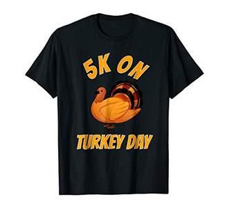 5K Race Thanksgiving Shirts For Turkey Trot Race Tee Shirt