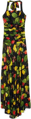 Isolda Zoe Silk Cashew Dress