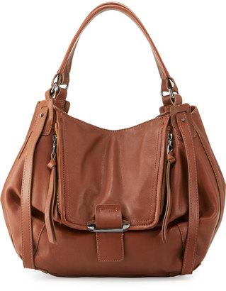Kooba Jonnie Leather Shopper Bag, Brown/Caramel $370 thestylecure.com