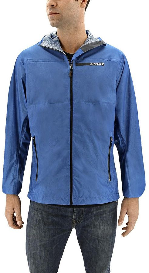 adidasMen's adidas Fastpack 2.5L Gore-Tex Hooded Rain Jacket