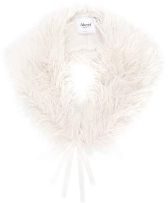 Blugirl faux-fur collar