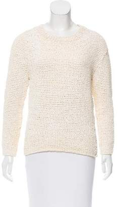 Theyskens' Theory Long Sleeve Knit Sweater