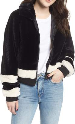Ten Sixty Sherman Faux Fur Bomber Jacket
