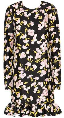 Marni Floral printed cotton dress