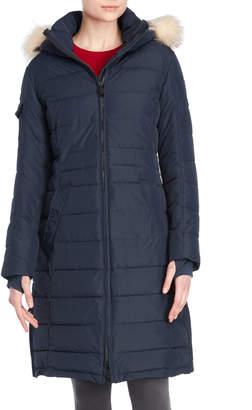 Pajar Canada Ventur Real Fur-Trimmed Maxi Coat