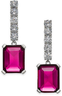 Danori Crystal Stone Drop Earrings