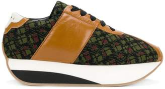 Marni patterned sneakers