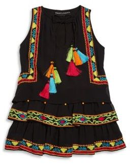 Hemant & Nandita Toddler's, Little Girl's & Girl's Sleeveless Tunic