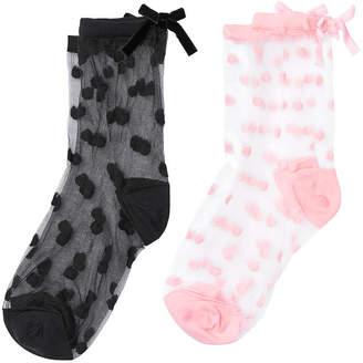 Victoria's Secret Victorias Secret Bow Sock Set