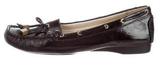 MICHAEL Michael Kors Patent Leather Square-Toe Loafers