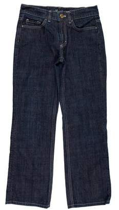 Loro Piana Mid-Rise Cropped Jeans