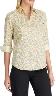 Chaps Petite No-Iron Button-Down Shirt