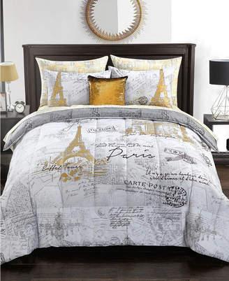 Idea Nuova Urban Living Paris Bedding Set - Twin Bedding
