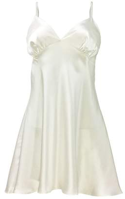 Ouihours Manito Silk Short Silk Gown