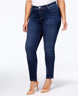 INC International Concepts I.n.c. Plus Size Tummy Control Skinny Jeans