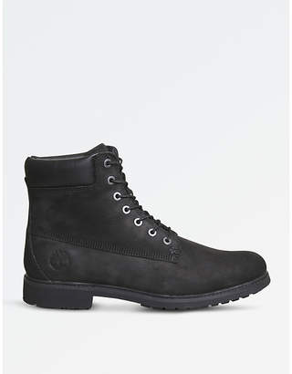"""Timberland Slim 6"""" leather boots"""