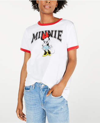 Modern Lux Juniors' Minnie Mouse Graphic T-Shirt