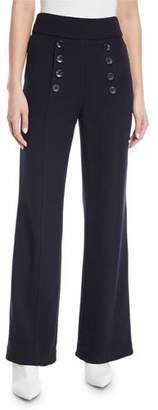 Joie Ardina Sailor-Button Pants