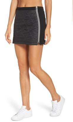 Icebreaker Helix Quilted Wool Blend Skirt