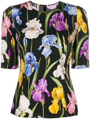 Dolce & Gabbana printed basic blouse