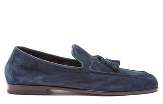 Harry's of London Adrian tassel-embellished suede loafers