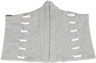 Jonathan Simkhai Whip Stitch Cotton French Terry Corset