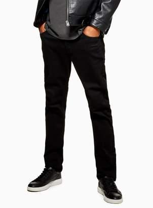 692bc48d TopmanTopman Black Stretch Slim Jeans