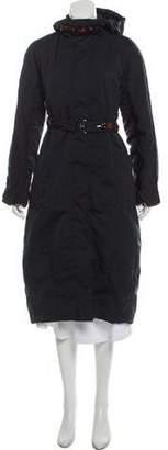 Max Mara 'S Hooded Long Coat