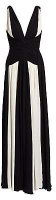 ZUHAIR MURAD Women's Draped Silk Georgette Gown