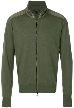 Belstaff Kelby zip knitted sweater
