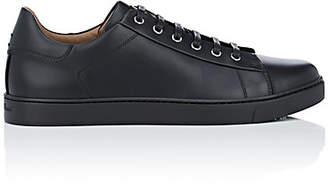 Gianvito Rossi Men's Leather Low-Top Sneakers - Black