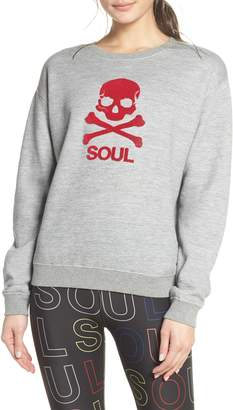 Soul by SoulCycle Skull Graphic Sweatshirt