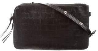 Steven Alan Embossed Leather Crossbody Bag