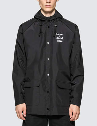Have A Good Time Logo Rain Jacket