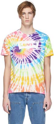 Levi's Levis Multicolor Tie-Dye Housemark T-Shirt