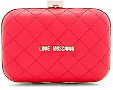 Love Moschino (ラブ モスキーノ) - QUILTED ボックスクラッチ
