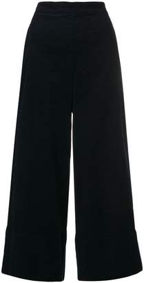 Stefano Mortari cropped wide-leg trousers