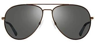 Revo Polarized Sunglasses Spark Aviator Frame 60 mm