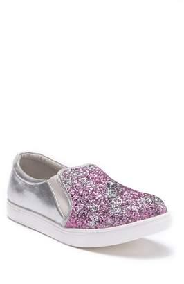 2a60bc74093 Harper Canyon Multi-Glitter Slip-On Sneaker (Little Kid   Big ...