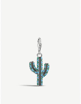 Thomas Sabo Cactus sterling silver charm
