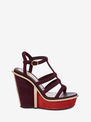 Alexander McQueen Wedge Sandal