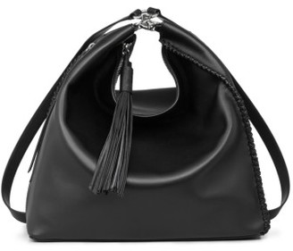 Allsaints Pearl Convertible Leather Backpack - Black $428 thestylecure.com
